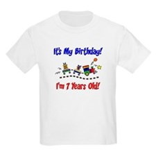 Train 7th Birthday T-Shirt
