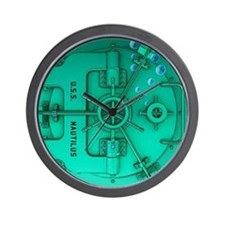 Submarine Door Wall Clock