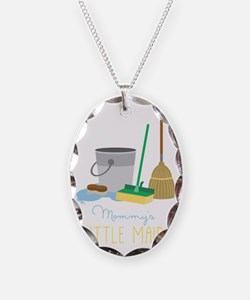 Mommy's Little Maid Necklace