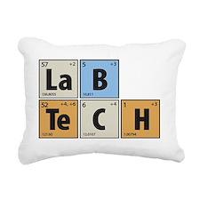 Lab Tech Rectangular Canvas Pillow