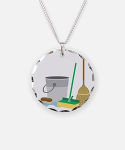 Cleaning Supplies Necklace