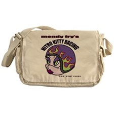 Nitro Kitty White T-Shirt Messenger Bag