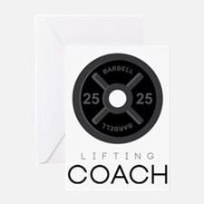 Lifting Coach Greeting Card