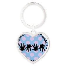 ot JEWELRY 3 Heart Keychain
