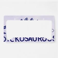 DICKOSAUROUS License Plate Holder