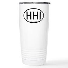 Hilton Head Island-Oval Travel Mug