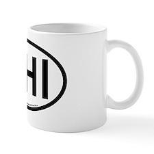Hilton Head Island-Oval Sticker Small Mug