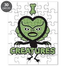 I Heart Creatures Puzzle