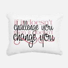 Challenge Rectangular Canvas Pillow