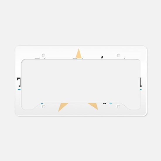 Genesis Star Student! License Plate Holder