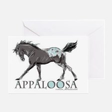 Appaloosa Horse Greeting Card