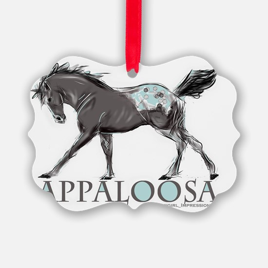 Appaloosa Horse Ornament