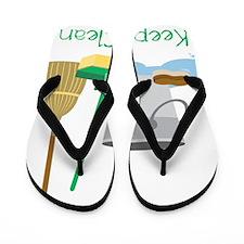Keep It Clean Flip Flops