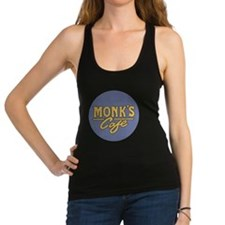 Monks Cafe - as seen on Seinfel Racerback Tank Top