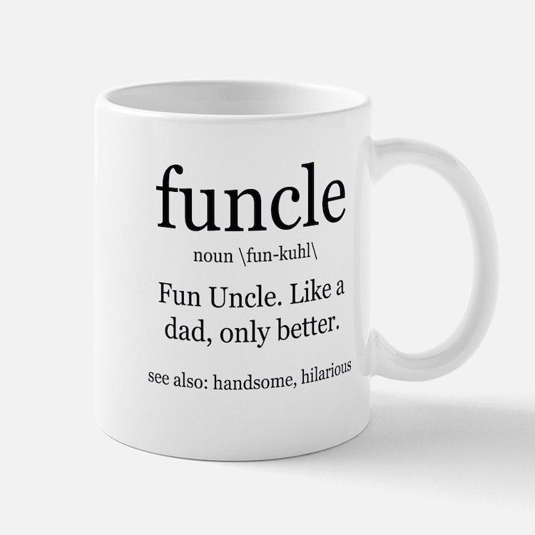 Fun Uncle definition Mugs