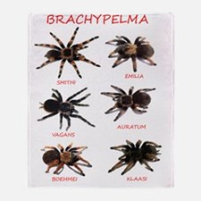Brachypelma Throw Blanket