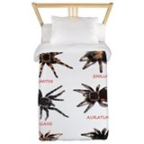 Tarantula Twin Duvet Covers