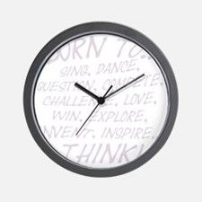 Born to... Wall Clock