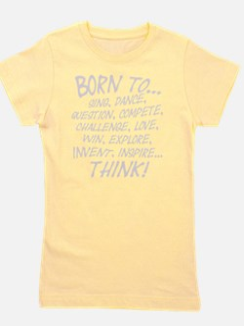Born to... Girl's Tee