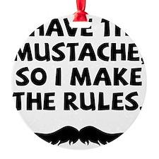 Mustache-009-A Ornament