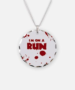 I'm on a run Necklace