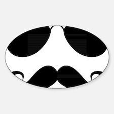Mustache-025-A Decal