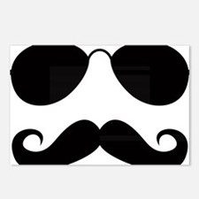 Mustache-025-A Postcards (Package of 8)