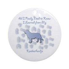 Learned Kooiker Ornament (Round)