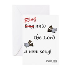 Ring Unto the Lord Greeting Cards (Pk of 10)