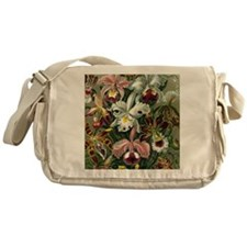 Botanical Orchids Messenger Bag