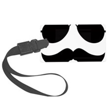 Mustache-049-A Luggage Tag