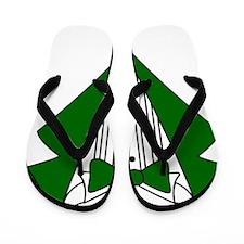 Tuxedo Flip Flops