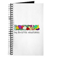 My Favorite Vegetables Journal