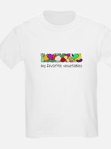 My Favorite Vegetables T-Shirt