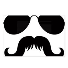 Mustache-032-A Postcards (Package of 8)
