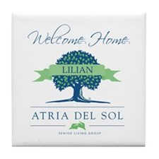 Atria Welcome Lilian Tile Coaster