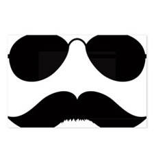 Mustache-036-A Postcards (Package of 8)