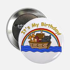 Noah's Ark Birthday Button