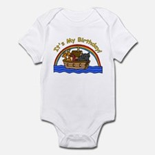 Noah's Ark Birthday Infant Bodysuit