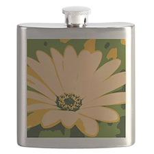 Yellow Daisy Flask