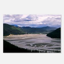 Teknalika River, Alaska Postcards (Package of 8)
