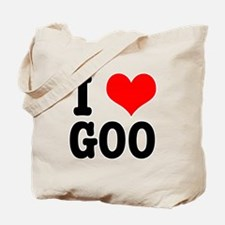 I Heart (Love) Goo Tote Bag