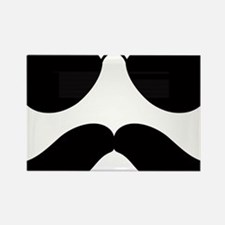 Mustache-048-A Rectangle Magnet
