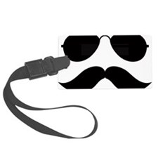 Mustache-048-A Luggage Tag