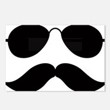 Mustache-048-A Postcards (Package of 8)