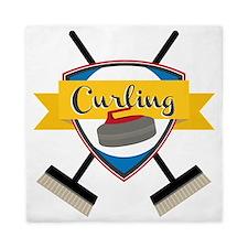Curling Logo Queen Duvet