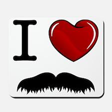 Mustache-008-A Mousepad