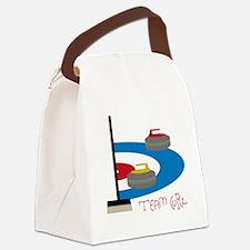 Team Curl Canvas Lunch Bag