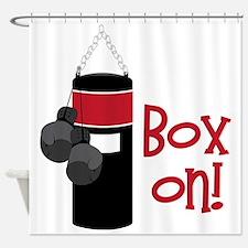 Box On! Shower Curtain