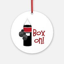 Box On! Round Ornament